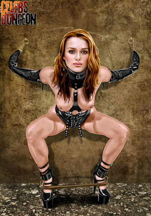 Keira Knightley gets taken through several BDSM